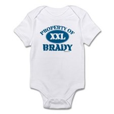 PROPERTY OF (XXL) BRADY Infant Bodysuit