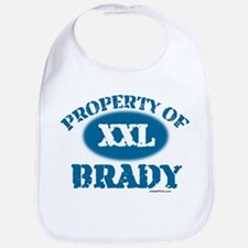 PROPERTY OF (XXL) BRADY Bib
