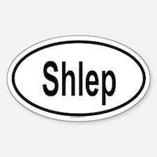 SHLEP Oval Decal