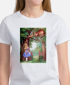 ALICE & THE CHESHIRE CAT Women's T-Shirt