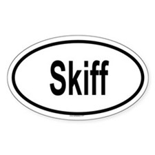 SKIFF Oval Decal