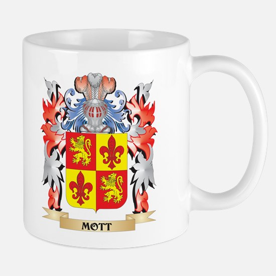 Mott Coat of Arms - Family Crest Mugs