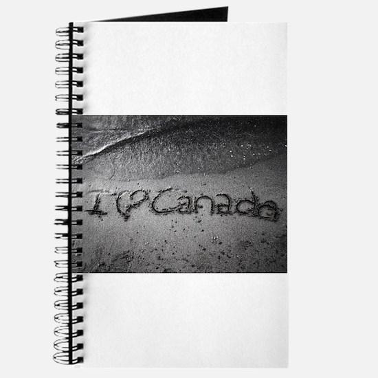 I heart Canada Journal