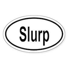 SLURP Oval Decal