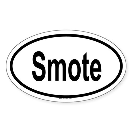 SMOTE Oval Sticker