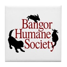 Bangor Humane Society Tile Coaster