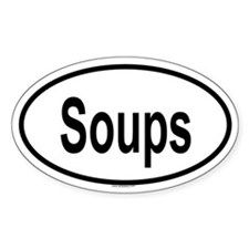 SOUPS Oval Decal