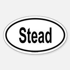 STEAD Oval Decal