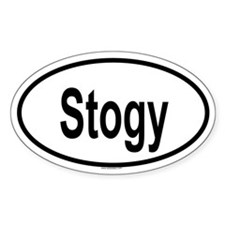 STOGY Oval Decal
