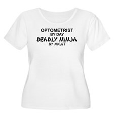Optometrist Deadly Ninja T-Shirt