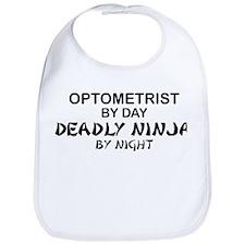 Optometrist Deadly Ninja Bib