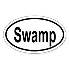 SWAMP Oval Decal