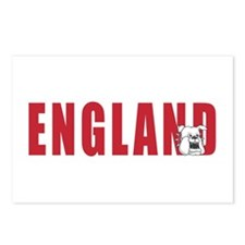 ENGLAND BULLDOGS Postcards (Package of 8)