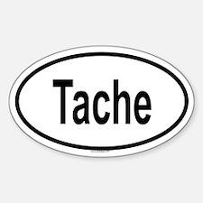 TACHE Oval Decal