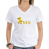 Family Womens V-Neck T-shirts