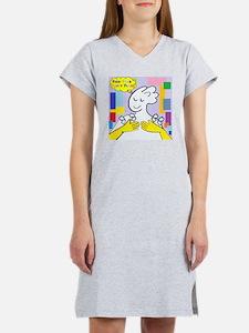 Cute Deaf art Women's Nightshirt