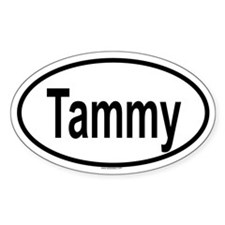 TAMMY Oval Decal