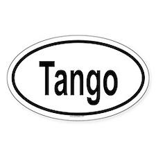 TANGO Oval Decal