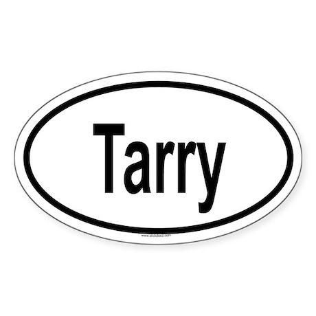 TARRY Oval Sticker