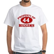 PROPERTY OF (44) RIGGINS Shirt