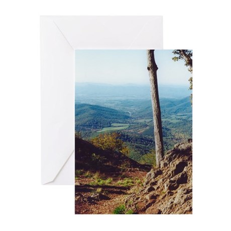 Skyline Drive Valley View Greeting Cards (Pk of 10