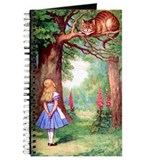 Alice in wonderland cheshire cat Journals & Spiral Notebooks