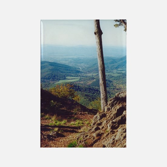 Skyline Drive Valley View Rectangle Magnet