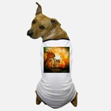 The fairy house in the night Dog T-Shirt