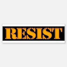 RESIST. Bumper Bumper Bumper Sticker
