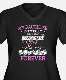 My Daughter T Shirt Plus Size T-Shirt