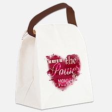 Single moms Canvas Lunch Bag
