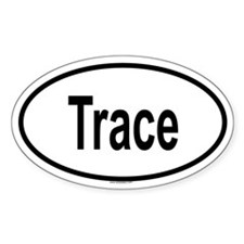 TRACE Oval Decal