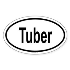 TUBER Oval Decal