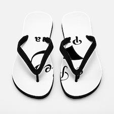 I Rep Panama Flip Flops