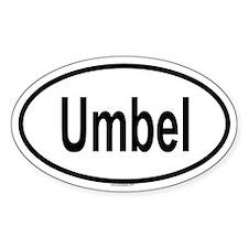 UMBEL Oval Decal
