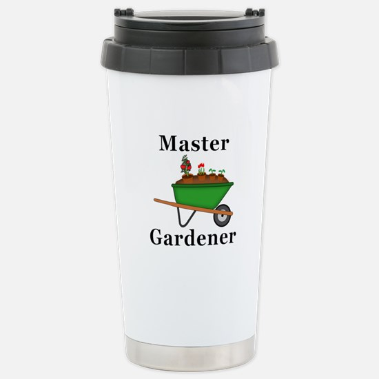 Master Gardener Stainless Steel Travel Mug
