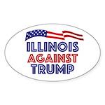Illinois Against Trump Sticker