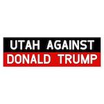 Utah Against Donald Trump Bumper Sticker
