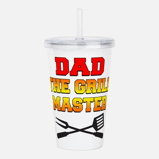 Dad The Grill Master Acrylic Double-wall Tumbler