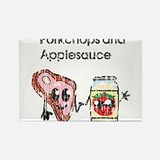 porkchop and applesauce vintage Magnets