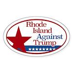 Rhode Island Against Trump Sticker