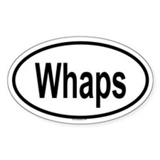 WHAPS Oval Decal