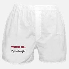 Trust Me I'm a Psychotherapist Boxer Shorts
