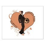 Valentine Wanted (Male) Small Poster
