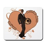 Valentine Wanted (Male) Mousepad