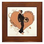Valentine Wanted (Male) Framed Tile
