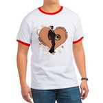 Valentine Wanted (Male) Ringer T