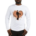 Valentine Wanted (Male) Long Sleeve T-Shirt