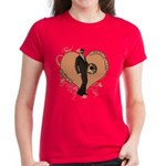 Valentine Wanted (Male) Women's Dark T-Shirt