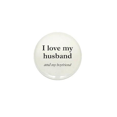 Husband/my boyfriend Mini Button (100 pack)